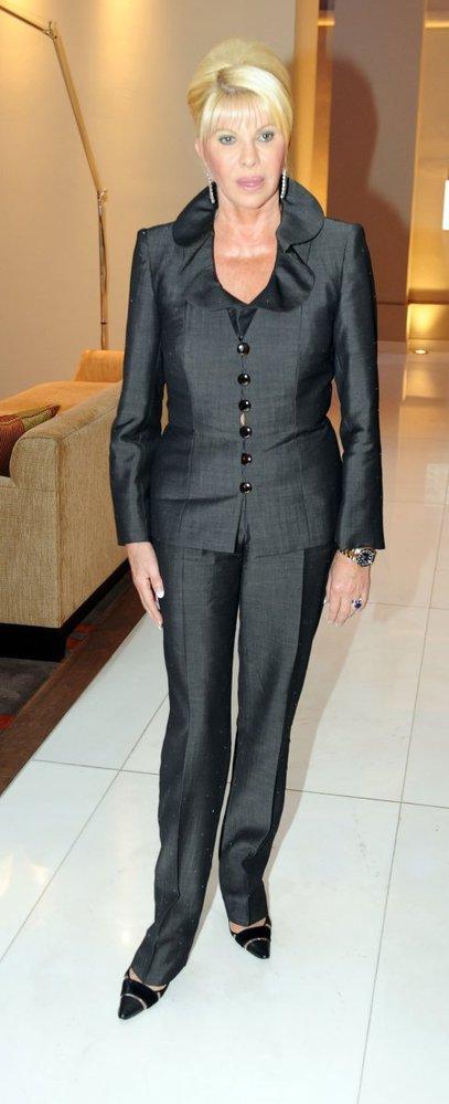 Stále elegantní dáma Ivana Trumpová