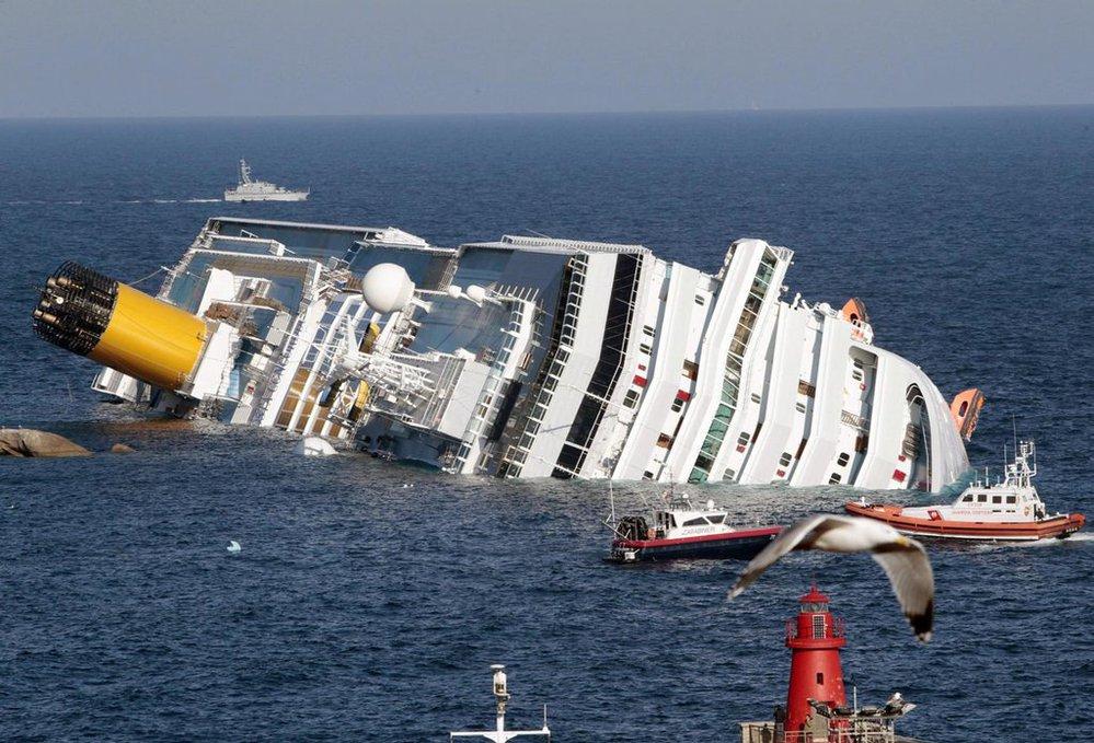 trajekt Costa Concordia