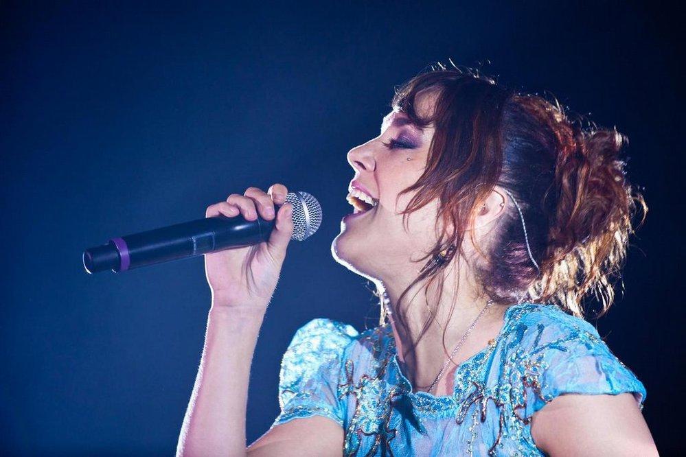 Francouzská zpěvačka Zaz