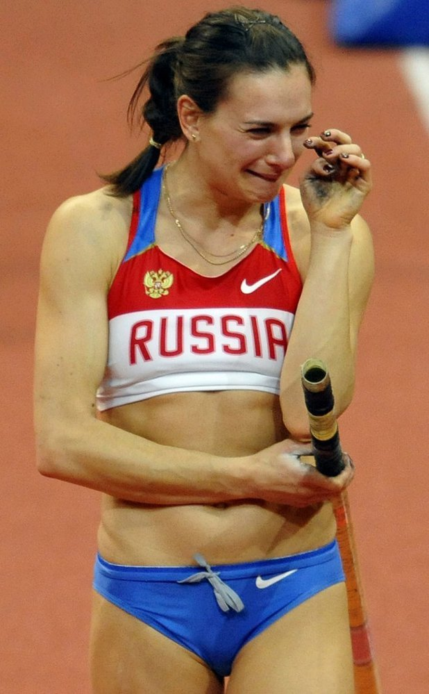 Isinbajevová