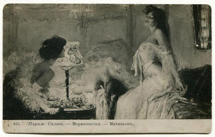 Fotografie z doby, kdy opium vládlo světu.
