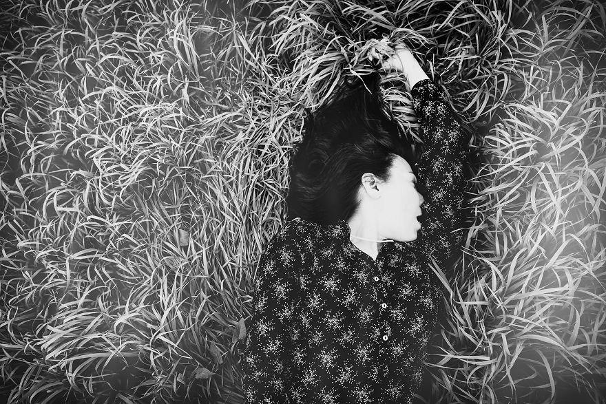 Litevský fotograf uměleckou formou zachytil okamžik ženského orgasmu.
