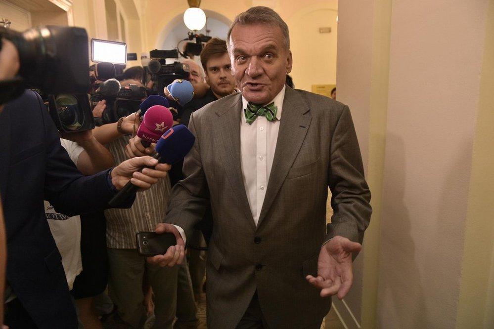 Soud v kauze opencard. Bývalý pražský primátor Bohuslav Svoboda