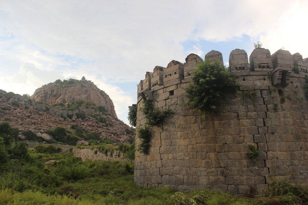 Zbytky hradeb zarůstají tropickou vegetací a skrývá se v nich spousta zvířat, což přidává areálu na atmosféře.