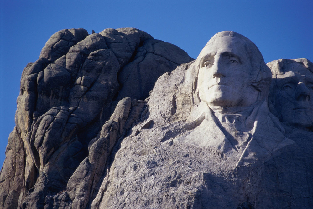 George Washington, Mount Rushmore