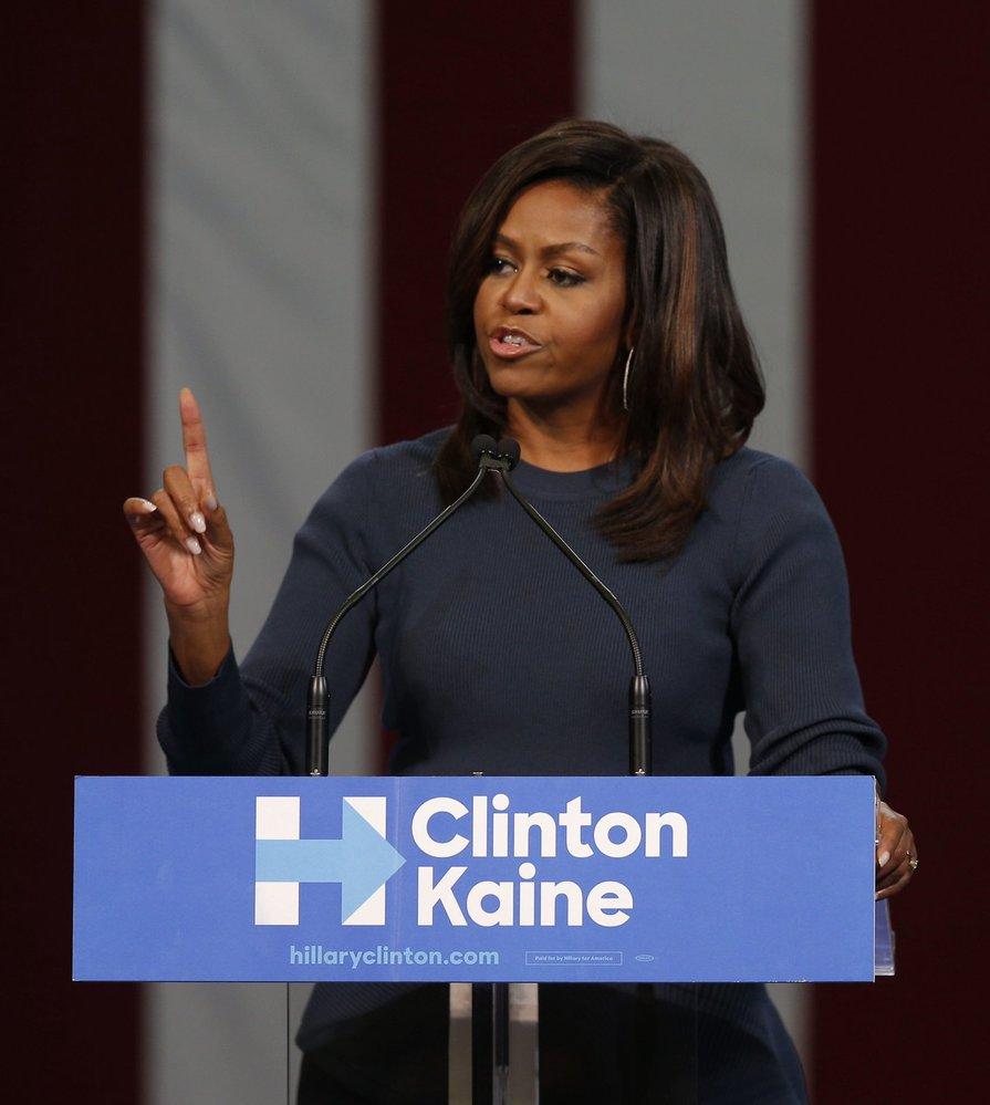 Michelle Obamová podporuje Hillary Clintonovou