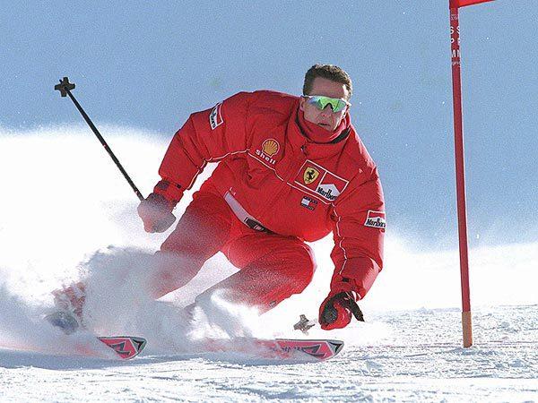 Schumi se zranil při lyžování.