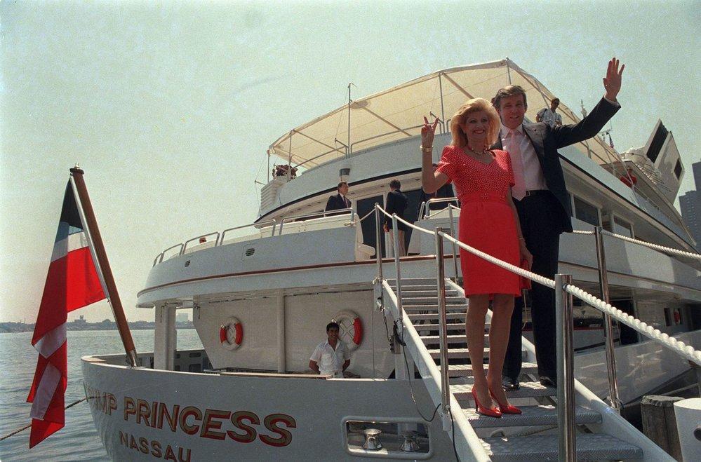 V letech 1977-1991 byla Ivana, rozená Zelníčková, manželkou nastávajícího amerického prezidenta Donalda Trumpa.