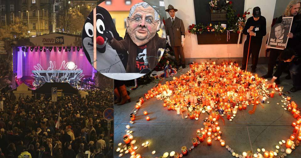 Koncert na Václaváku, rušno na Národní třídě i průvod masek: Co všechno čeká Prahu 17. listopadu?