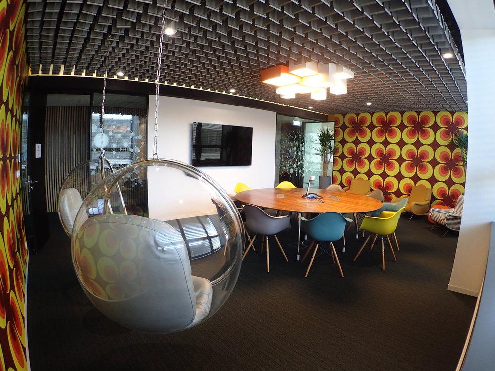 Kanceláře společnosti SAP.