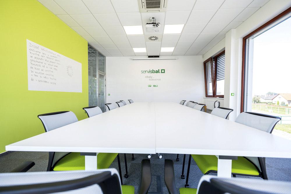 Kanceláře společnosti Servisbal.