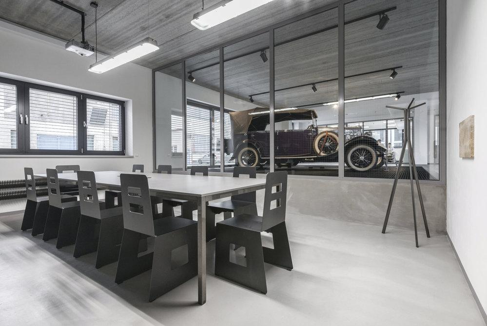 Kanceláře společnosti Wikov.