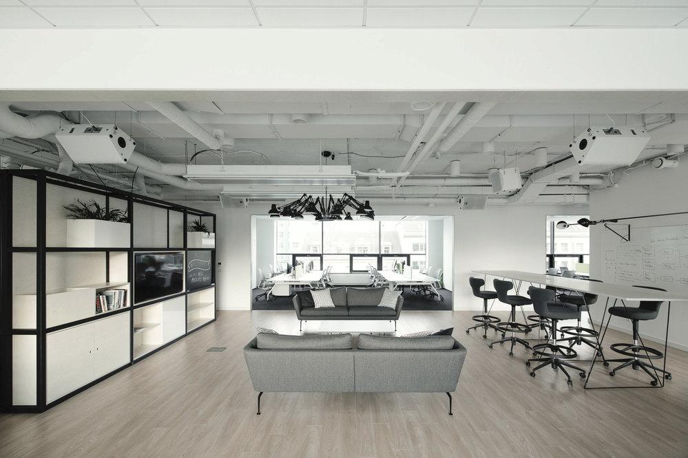 Kanceláře společnosti Accolade.