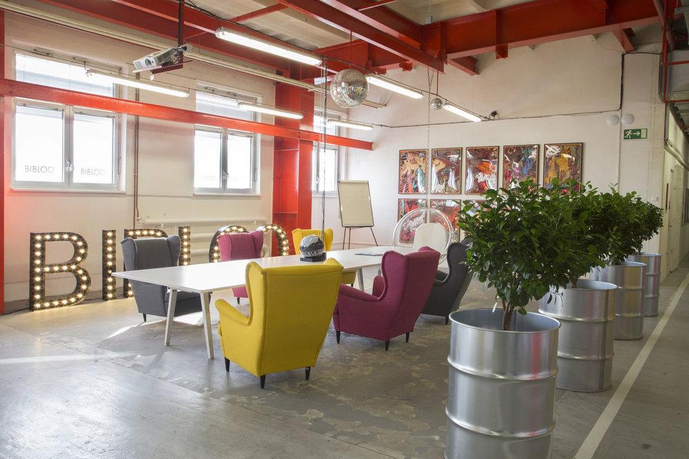 Kanceláře e-shopu s módou Bibloo.