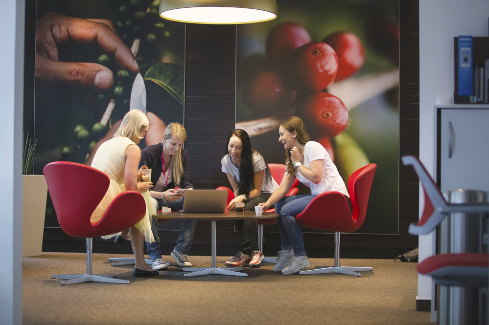 Kanceláře společnosti Nestlé.
