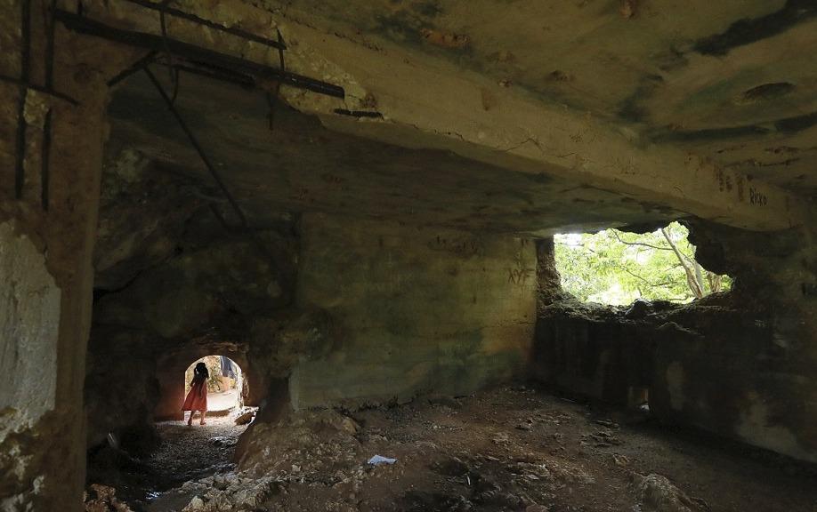 Na mnoha místech Tichomoří lze i po více než 70 letech najít stopy 2. světové války.