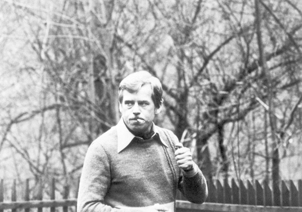 Václav Havel na nedatovaném snímku.