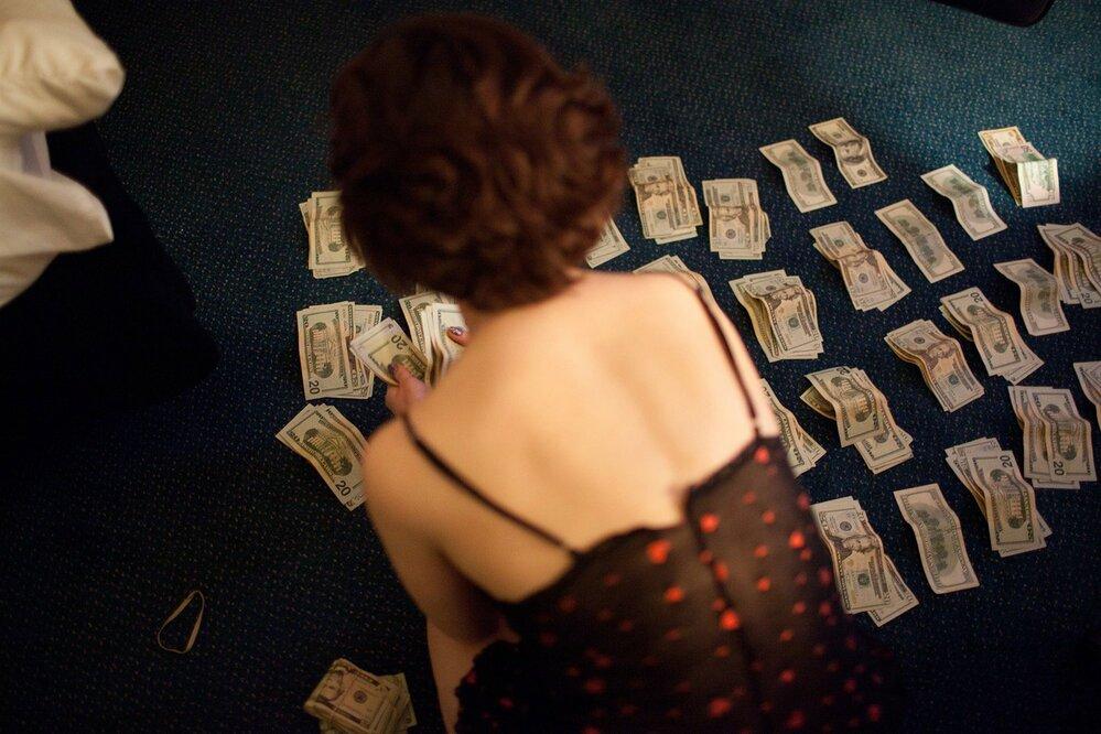 Den v životě luxusní prostitutky.