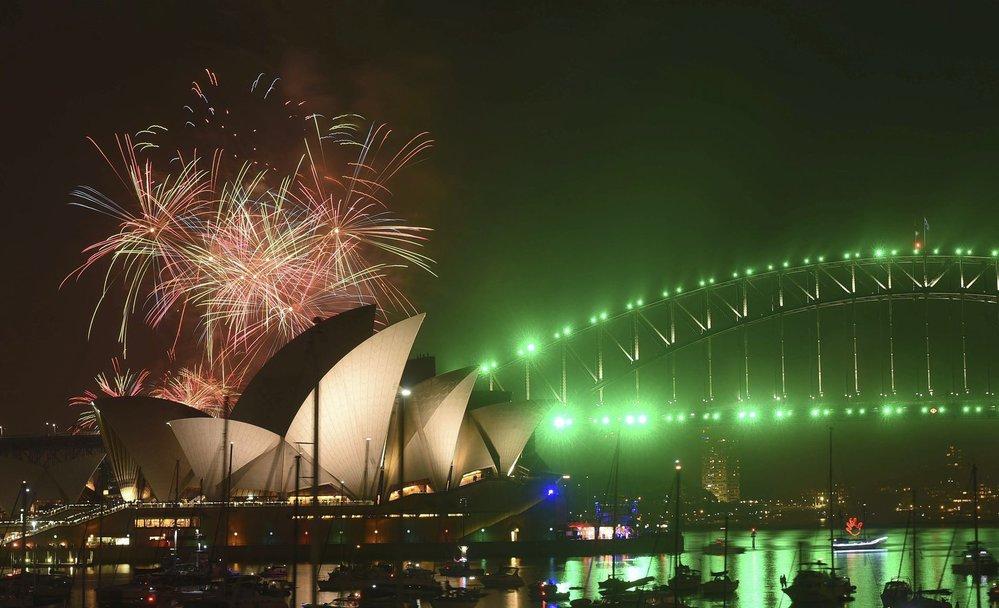 Ohňostroje v Sydney