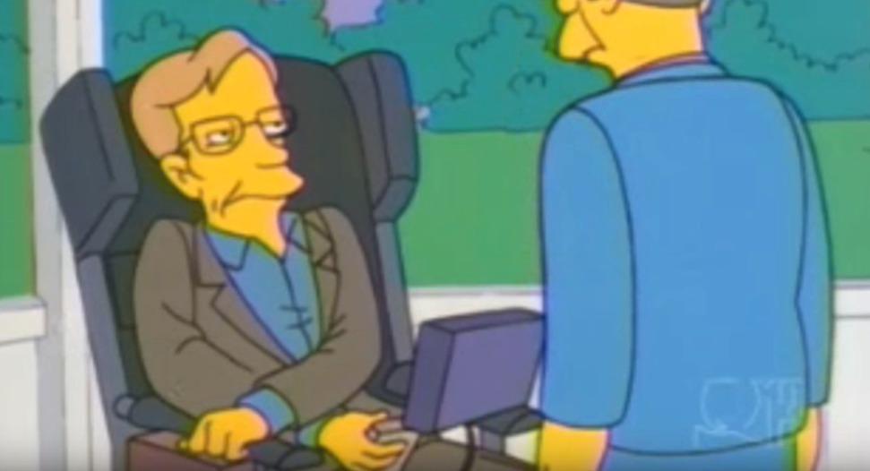 Steven Hawking se objevil v Simpsonových