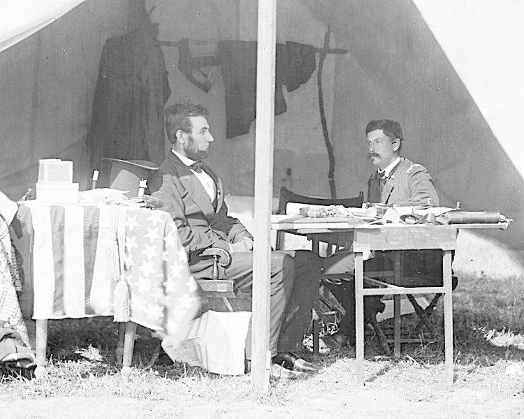 Abraham Lincoln během americké občanské války