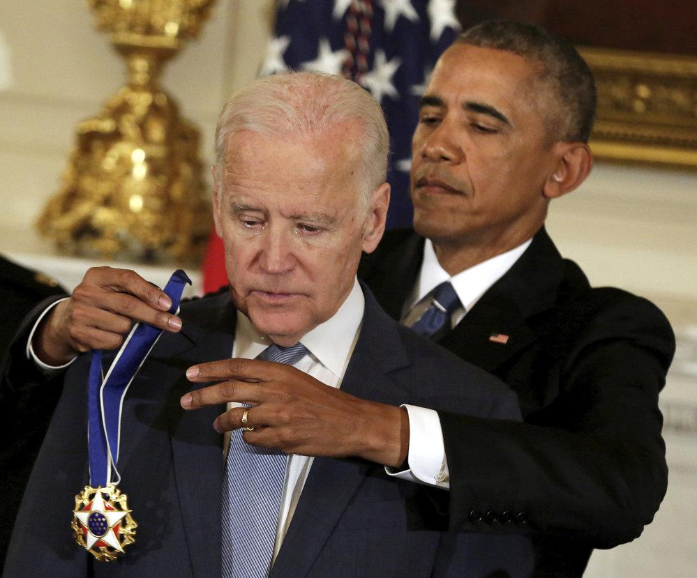 Barack Obama a Joe Biden