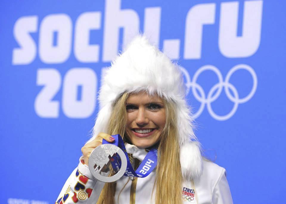 Gabriela Koukalová na olympiádě v Soči