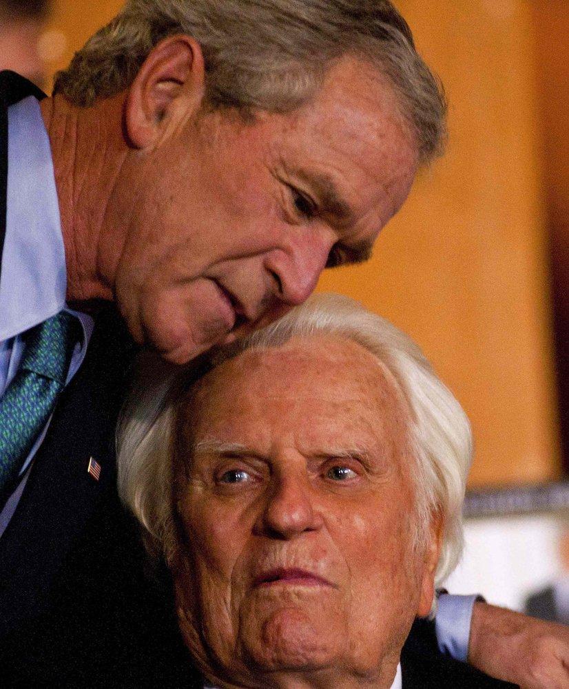Georeg Bush starší se synem