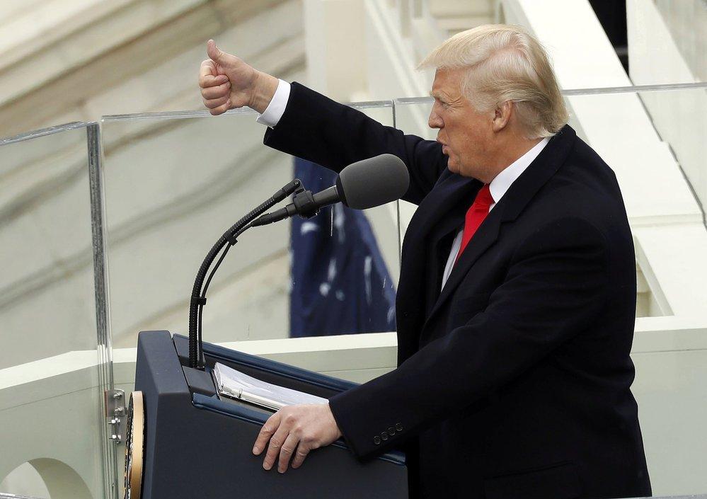 Donal Trump přednesl svoji první řeč jako prezident Spojených států amerických