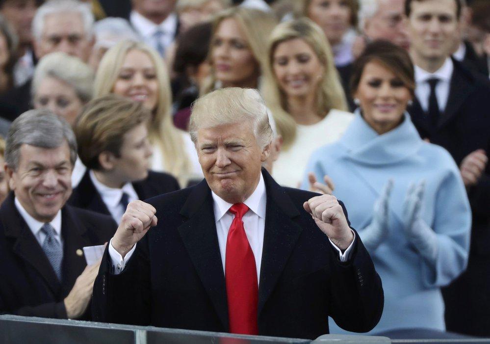 Donald Trump přednesl svůj první projev ve funkci amerického prezidenta