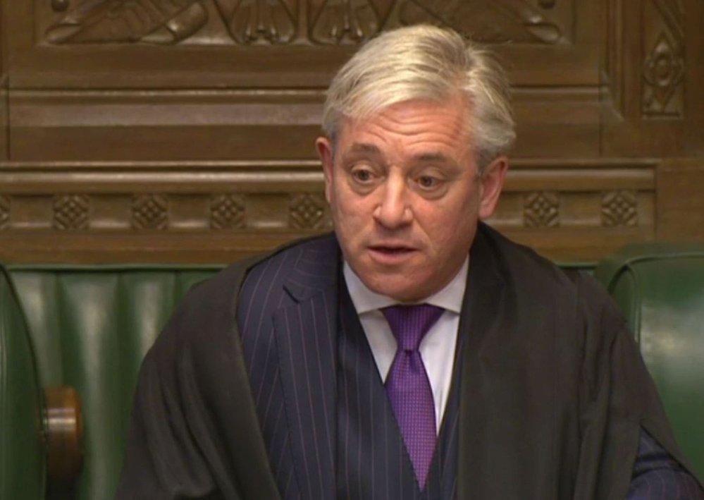 John Bercow. Předseda Dolní sněmovny je členem Konzervativní strany, ale strana ho považuje za neřízenou střelu stranící opozici. Ze své funkce má důležité pravomoci – může například některé pozměňovací návrhy vůbec nemusí připustit k hlasování.