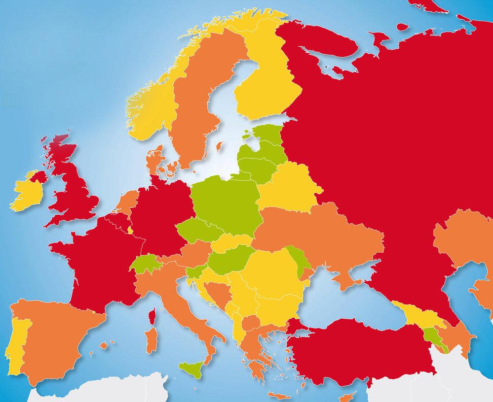 Jak bezpečno je v Evropě?