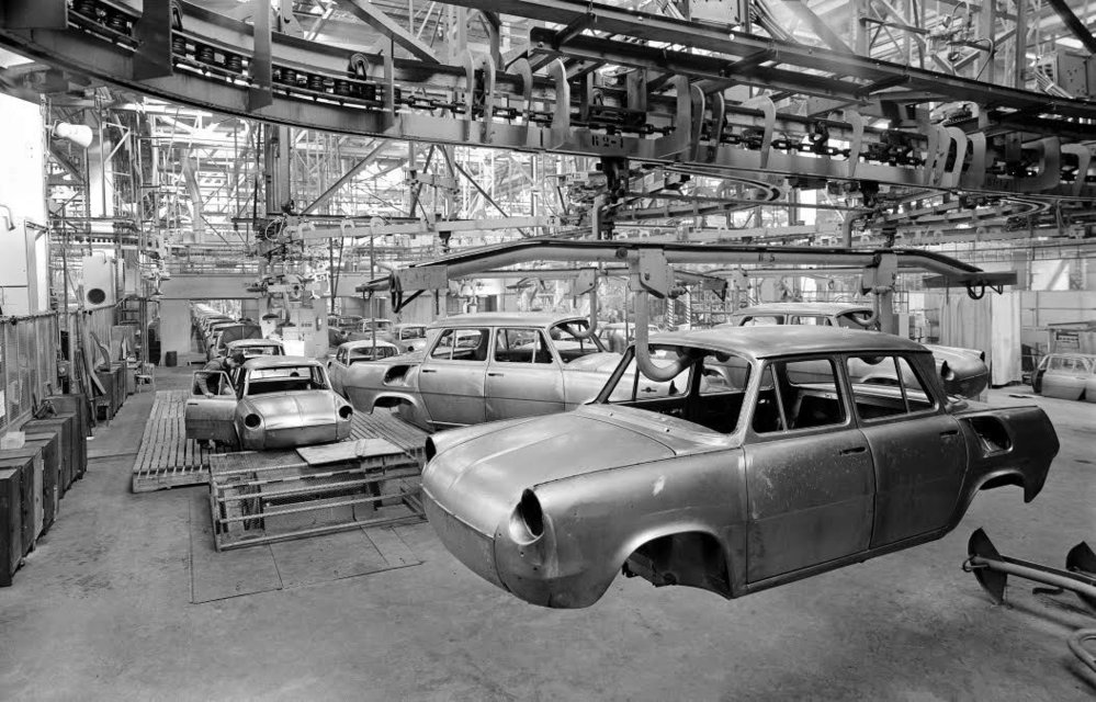 Jak se v šedesátých letech vyrábělo ve Škodovce