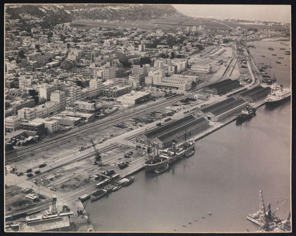 přístavní město Haifa