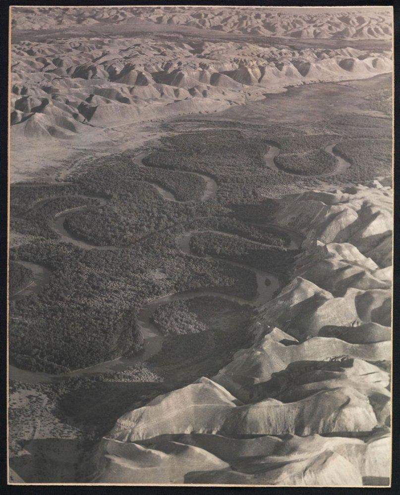 meandry řeky Jordán