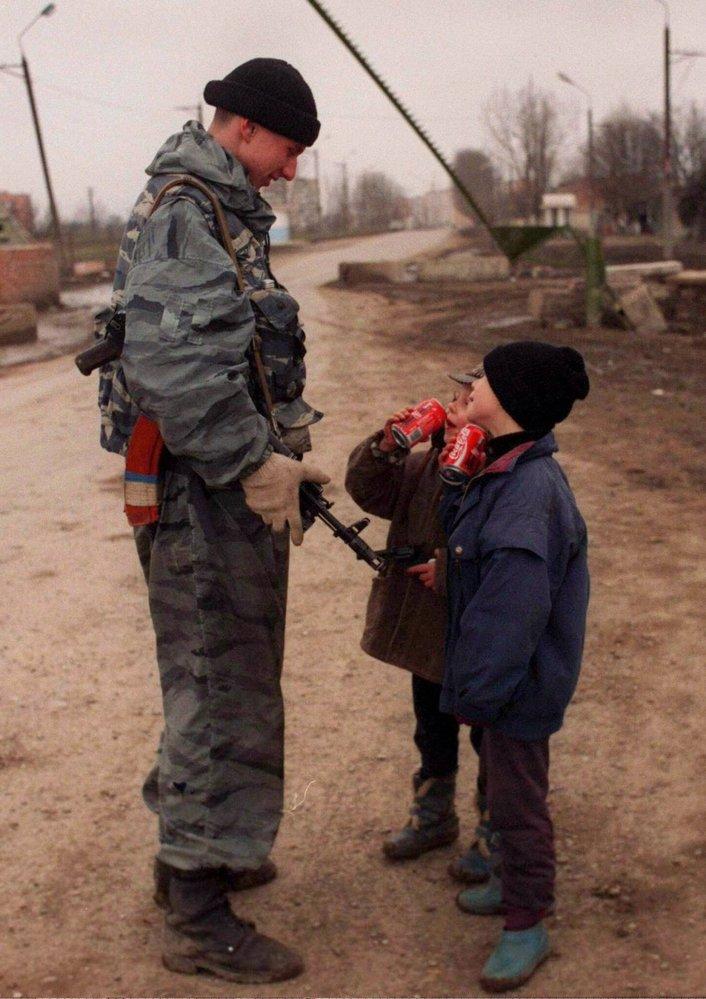 Groznyj, hlavní město Čečenské autonomní republiky Ruské federace