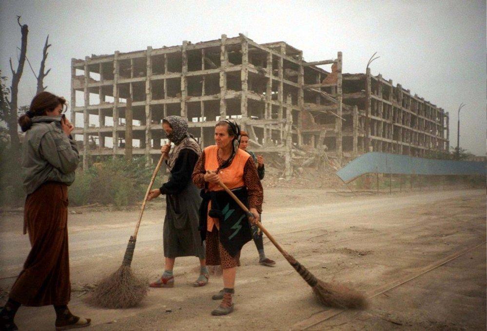 Čečensko zničené válkou