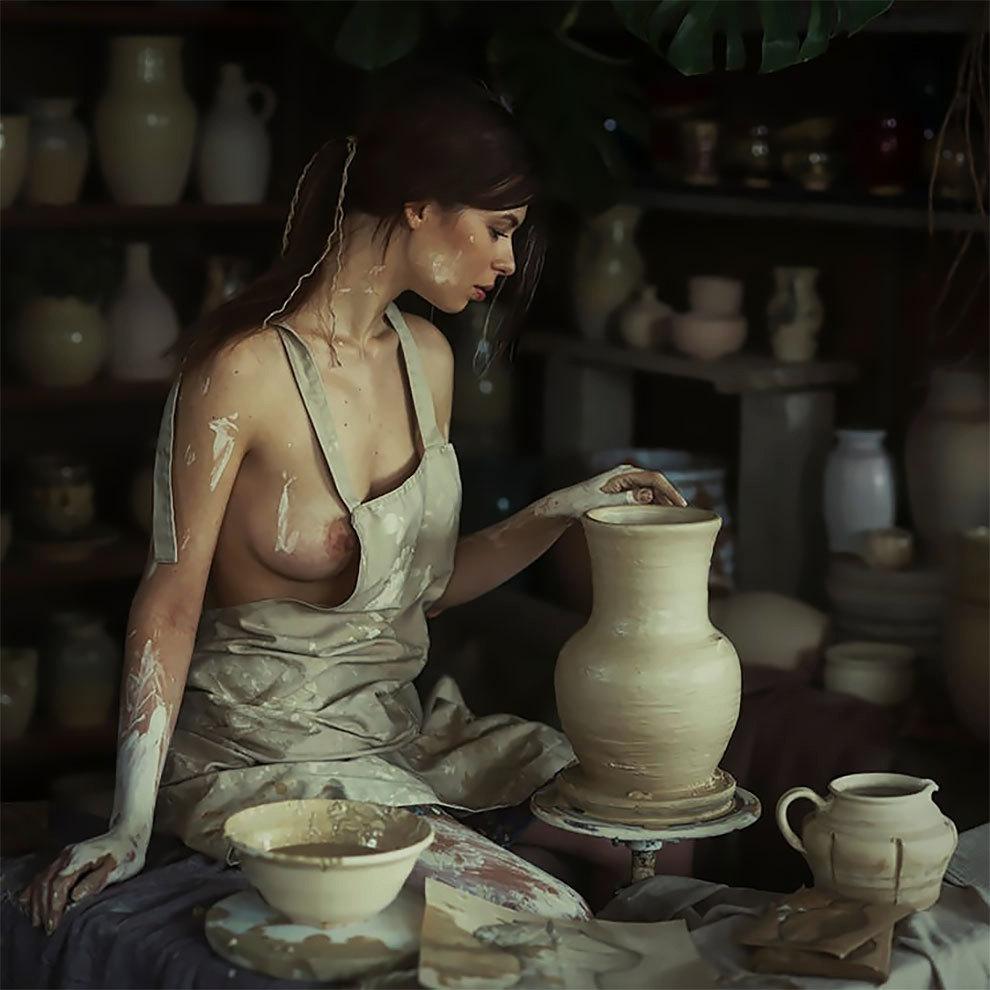 Krásné Ukrajinky nafotily v zemi sužované válkou vtipné erotické fotografie