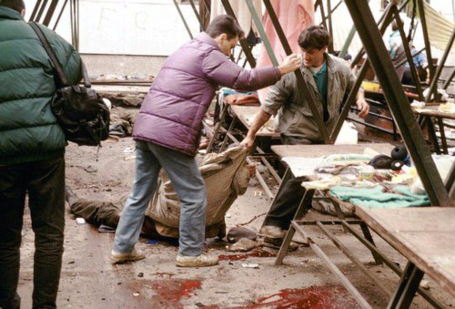 Masakr na sarajevském tržišti v únoru 1994