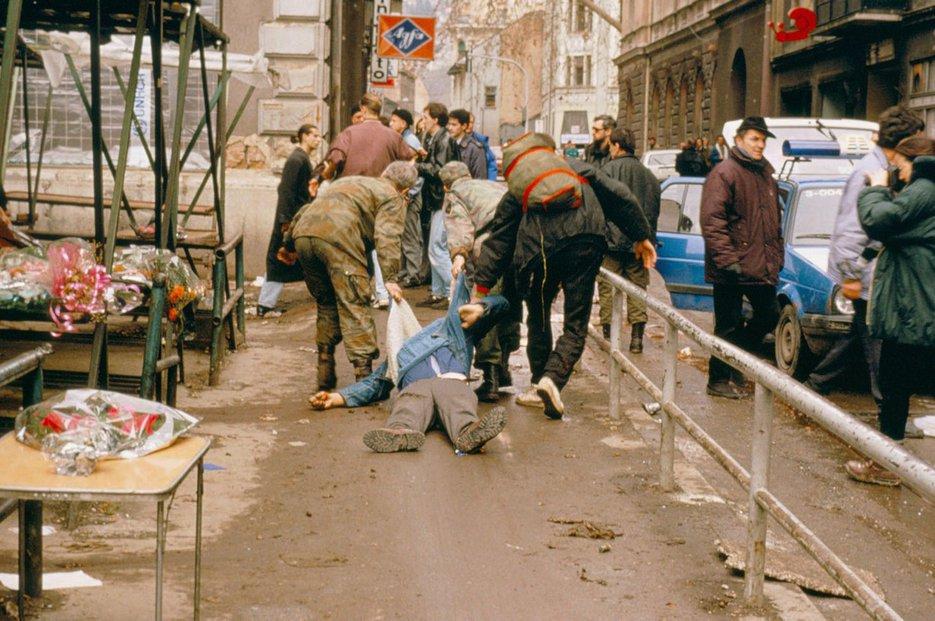 Sarajevské tržiště, 1994