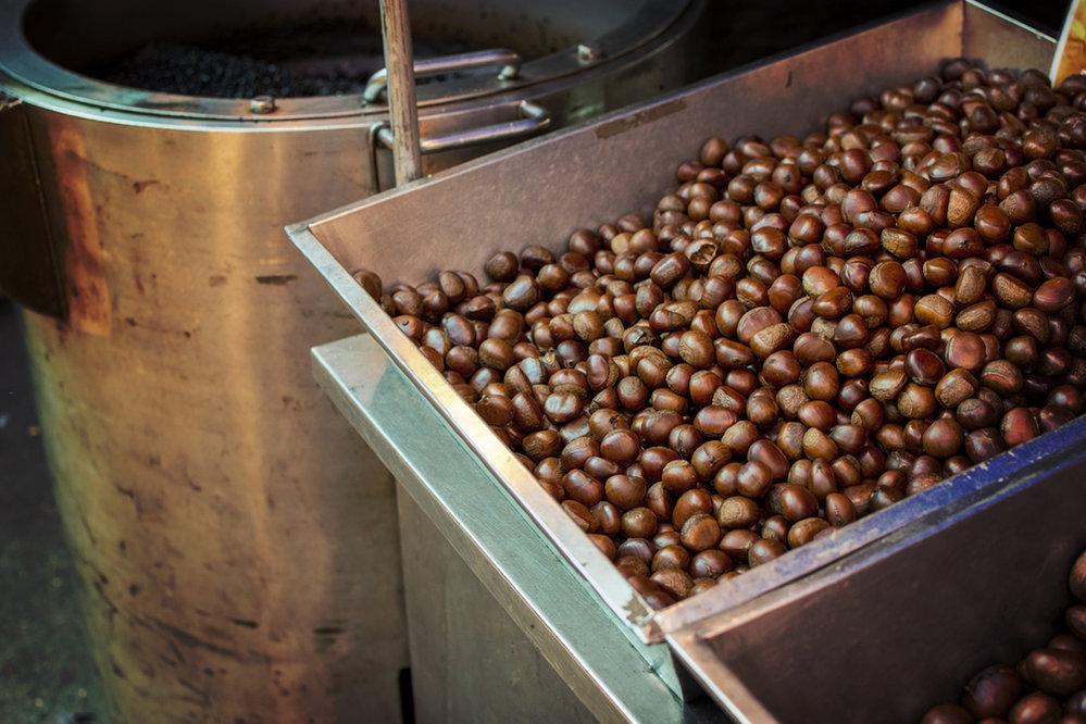 Z menších kaštánků se mele mouka, ze které se peče chléb či dělají těstoviny, statnější exempláře míří k přímému prodeji a dalšímu zpracování