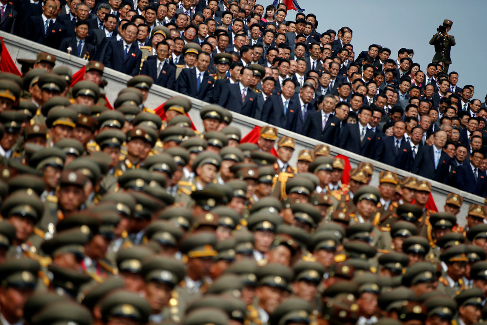 KLDR slaví 105. výročí narození Kim Ir-sena