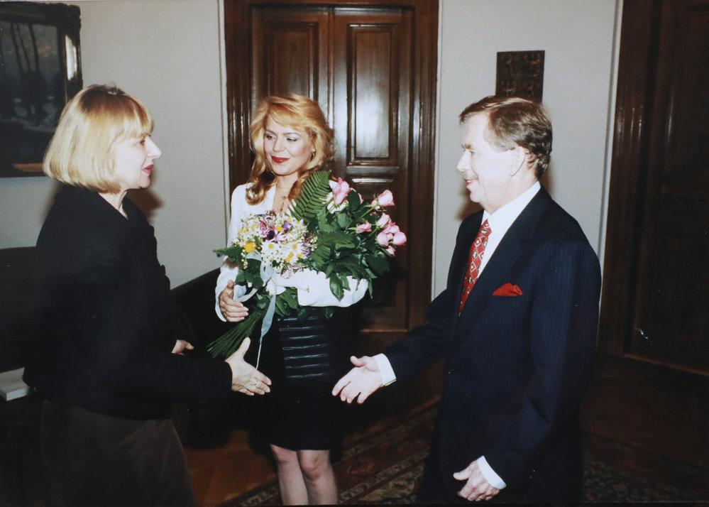Svatba Václava a Dagmar Havlových