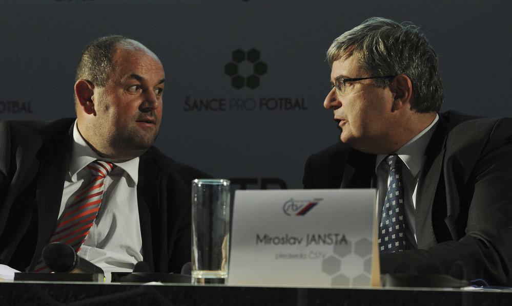 Dva mocní v českém sportu: Miroslav Pelta a Miroslav Jansta