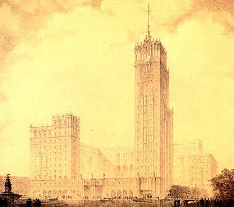 Diktátorovi architekti plánovali Moskvu, takřka přes noc, proměnit v nejmodernější metropoli na světě zastiňující všechna ostatní hlavní města.