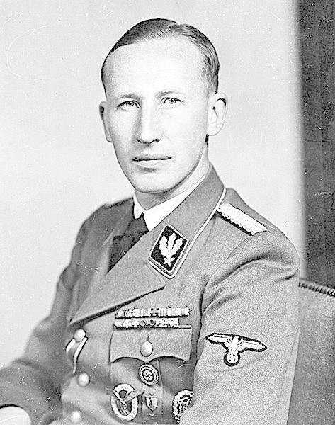 Reinhard Heydrich, říšský protektor v Protektorátu Čechy a Morava, na kterého čeští parašutisté provedli úspěšný atentát.
