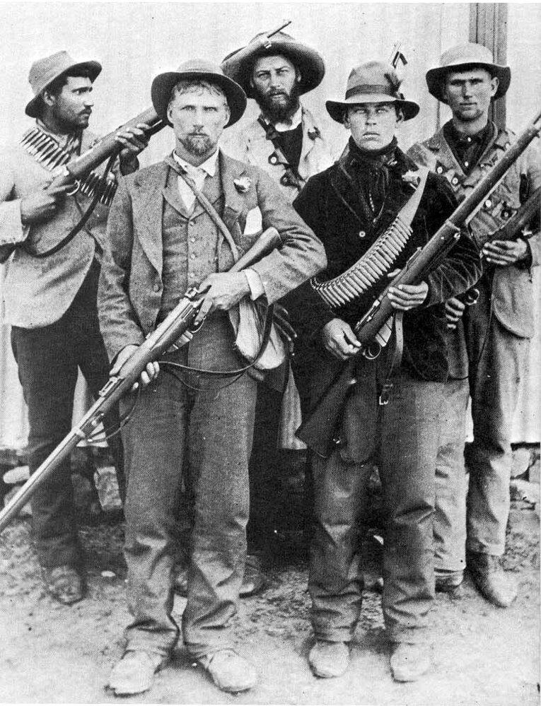11. října 1899 rozpoutali Búrové proti britským državám v jižní Africe vojenské akce.
