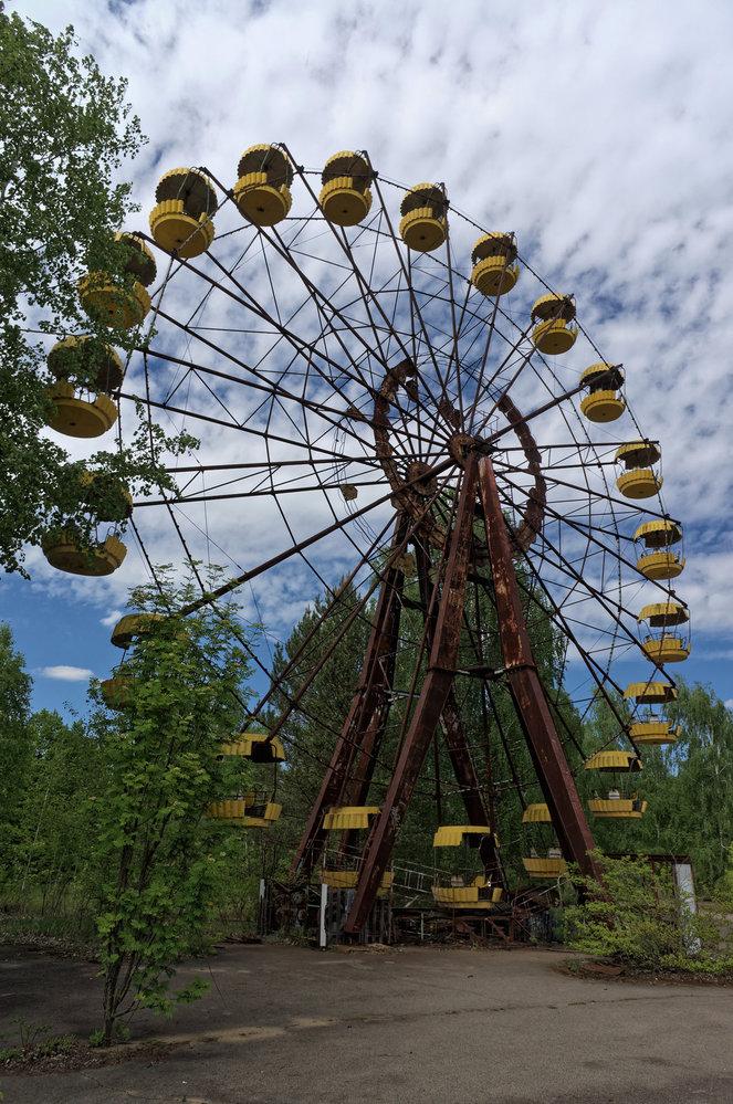 zábavní park v Pripjati
