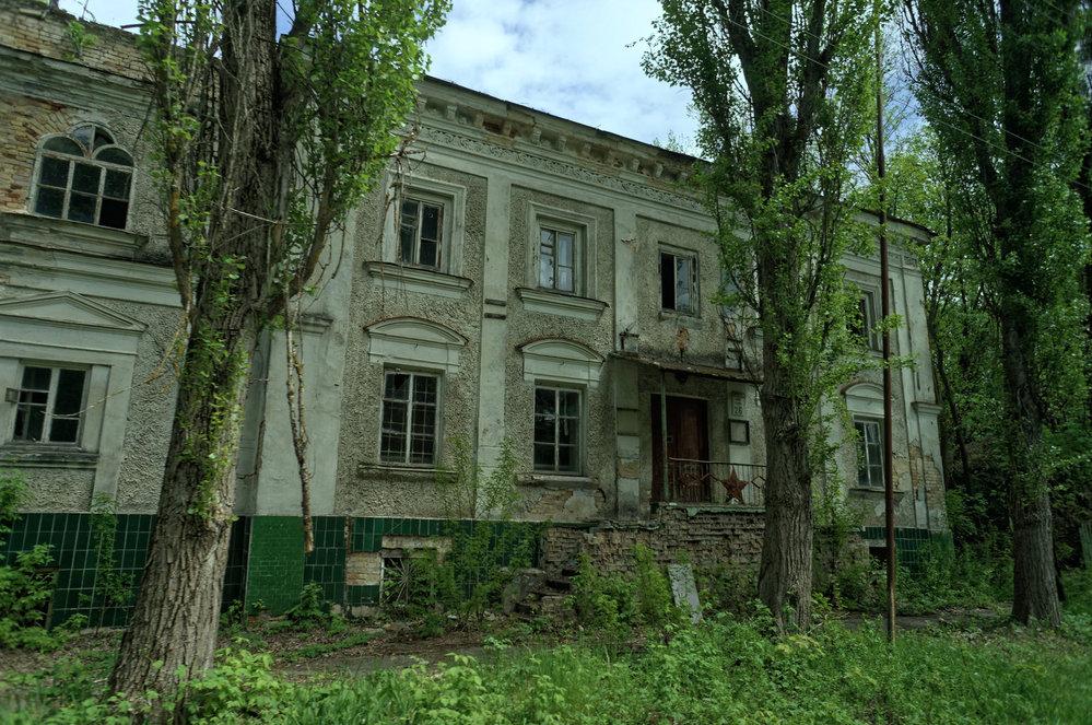 opuštěné budovy