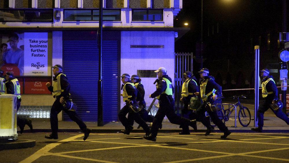 Policie zasahuje v centru Londýna